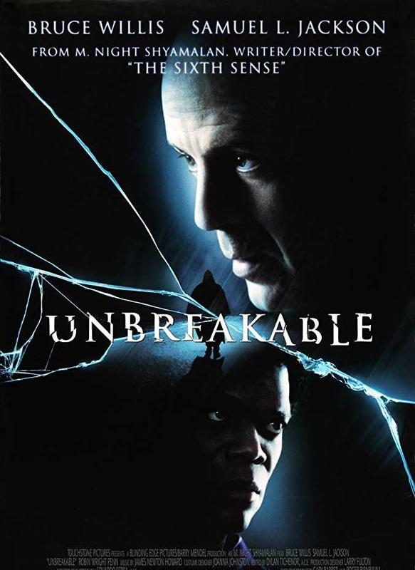 Unbreakable on DVD