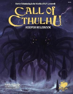Call of Cthulhu: Keeper Rulebook by Sandy Petersen image