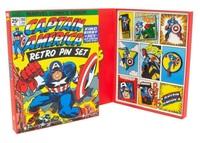 Marvel: Captain America - Retro Pin Set image