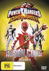 Power Rangers Dinothunder: Vol 4 Collision Course on DVD