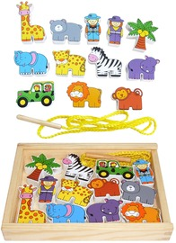 Fun Factory: Lacing Blocks Zoo