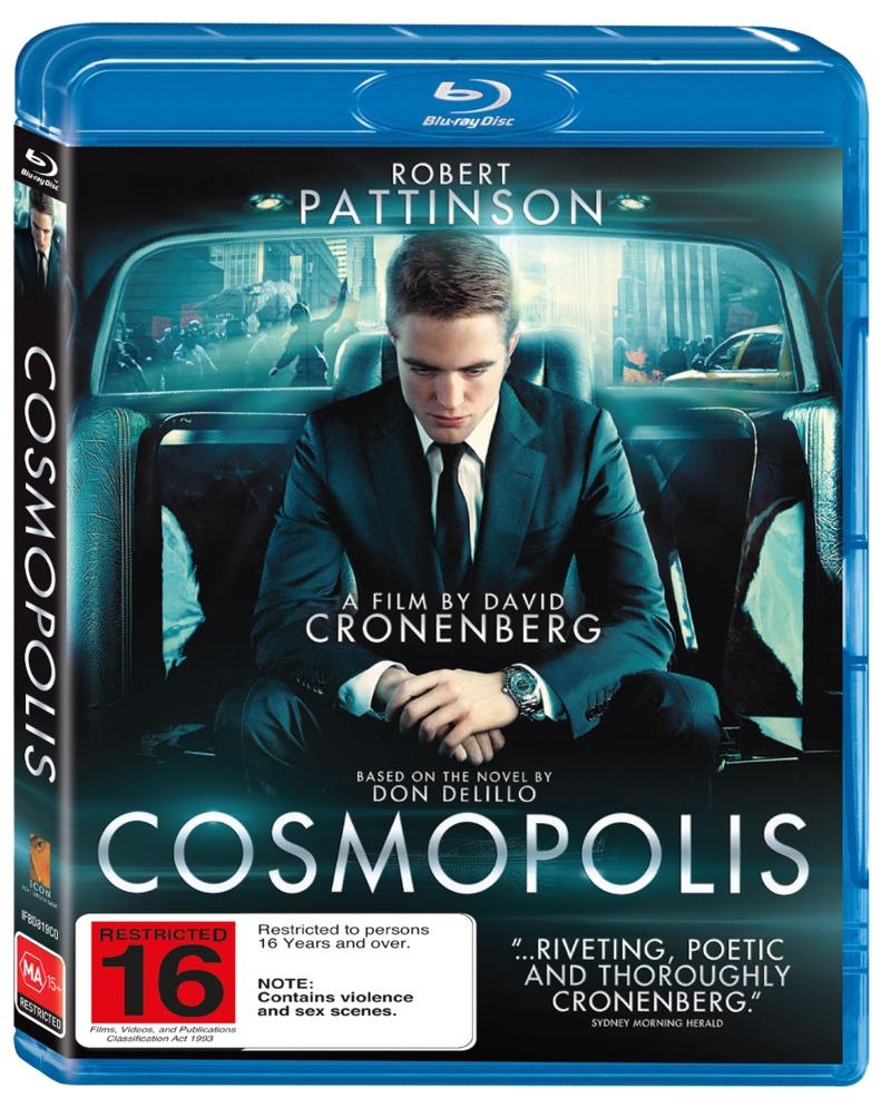 Cosmopolis on Blu-ray image