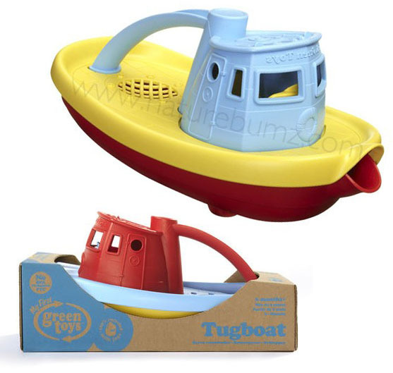Green Toys Tugboat (Assorted)