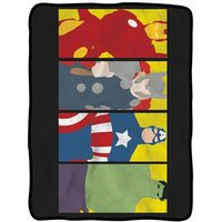 Avengers Minimalist Art Fleece Throw