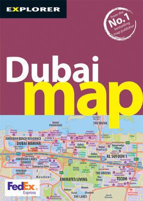 Dubai Map by Explorer Publishing and Distribution image