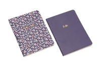 Willow & Rose - Set of 2 Notebooks (Navy)