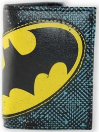 DC Comics: Batman Halftone Applique - Tri-fold Wallet image