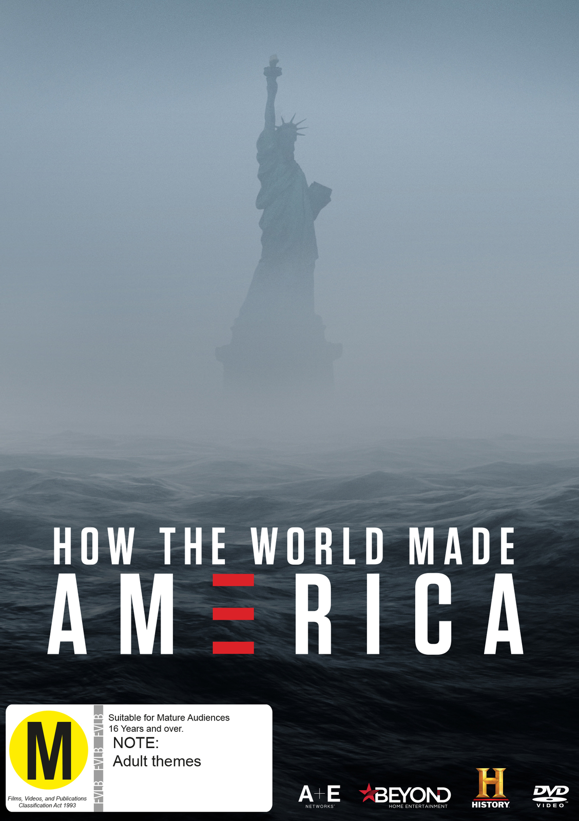 How The World Made America on DVD image