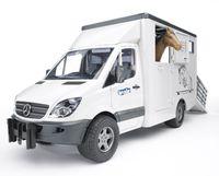 Bruder: MB Sprinter - Horse Transporter