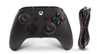 Xbox One Enhanced Wired Controller - Black for Xbox One image