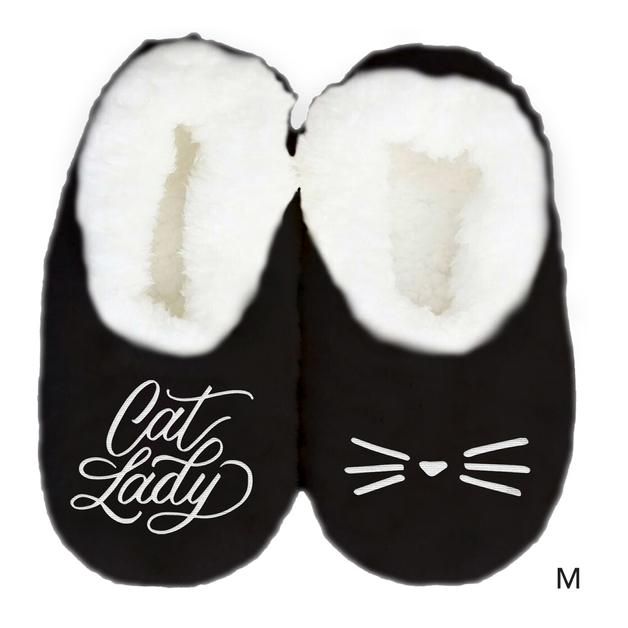 Sploshies: Women's Duo Slippers - Cat (Medium)