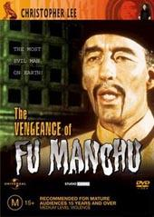 The Vengence Of Fu Manchu on DVD