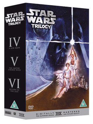 Star Wars Trilogy, Episodes 4-6 (3 Disc Box Set) on DVD