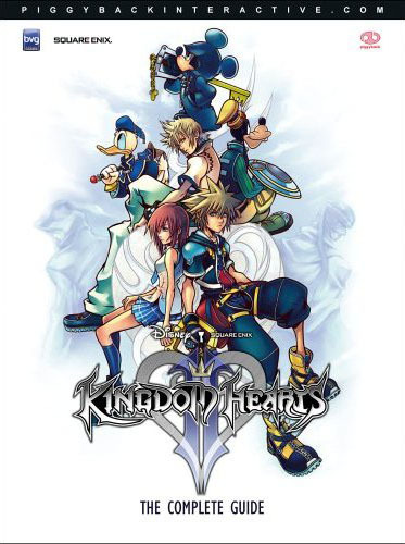 Kingdom Hearts II Piggyback Offical Game Guide by Klaus-Dieter Hartwig