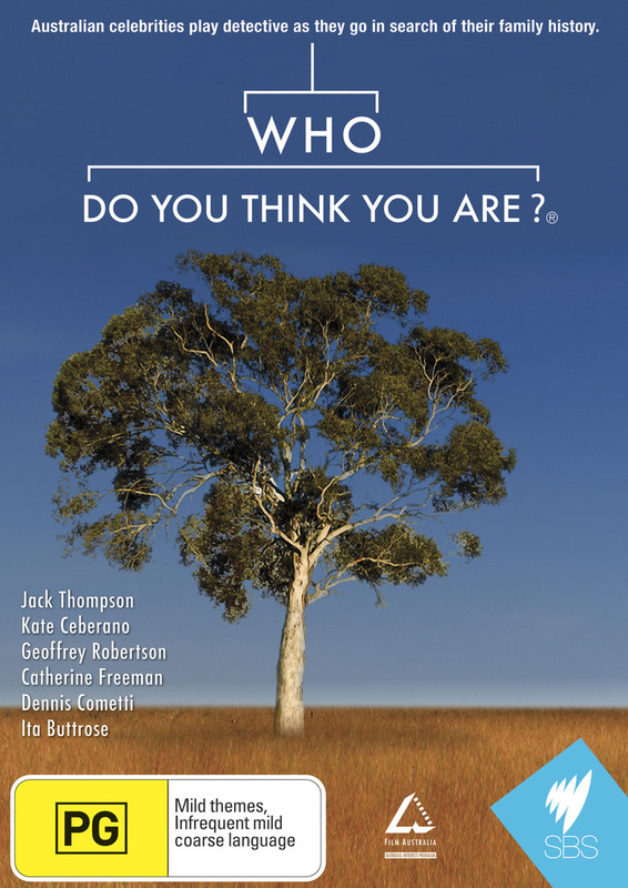 Who Do You Think You Are? (Aus) on DVD