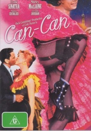 Can-Can on DVD