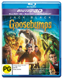 Goosebumps 3DBR DVD