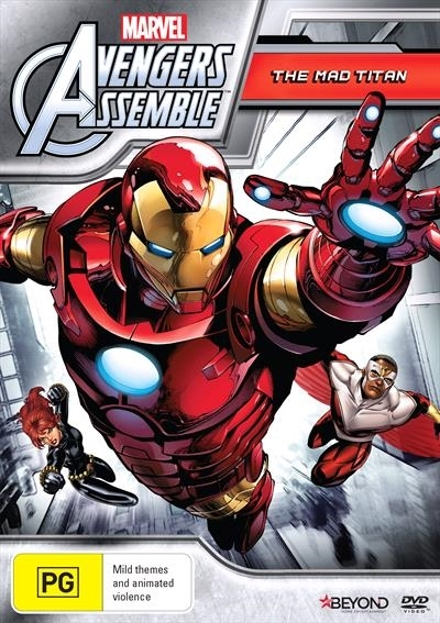 Avengers Assemble: The Mad Titan on DVD image