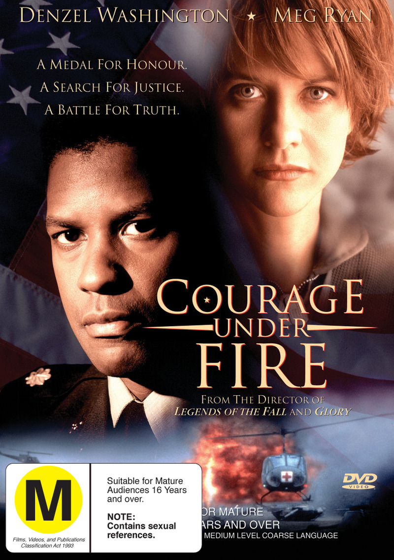 Courage Under Fire on DVD image