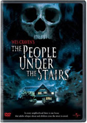 The People Under the Stairs on DVD
