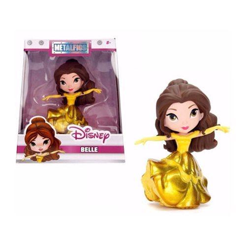 "Jada Metals: Gold Dress Belle – 4"" Die-Cast Figure image"