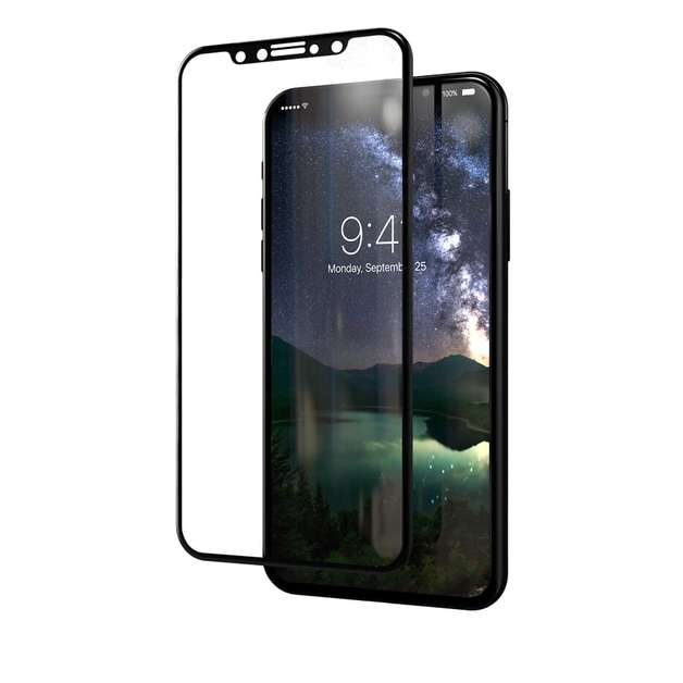 Kase Edge Night Screen Protector - iPhone X