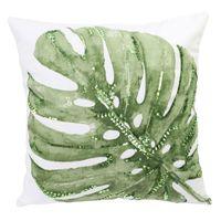 Botanical Cushion - Monstera