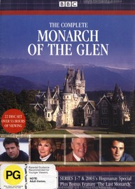 Monarch Of The Glen The Complete Series 1 - 7 (22 Disc Set) on DVD image