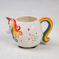 Natural Life: Folk Mug - Unicorn