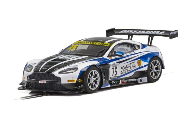 Scalextric: Aston Martin GT3 #75 - Slot Car