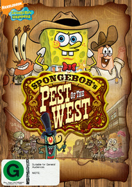 SpongeBob Squarepants: Pest of the West on DVD
