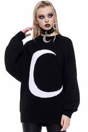 Killstar: Selena Knit Sweater - Black (L)