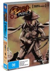 Desert Punk - Vol. 5: Under The Desert on DVD