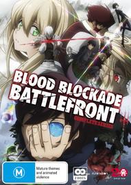 Blood Blockade Battlefront - Complete Series on DVD