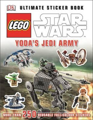 LEGO Star Wars Yoda's Jedi Army Ultimate Sticker Book by Shari Last