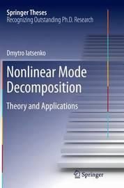 Nonlinear Mode Decomposition by Dmytro Iatsenko