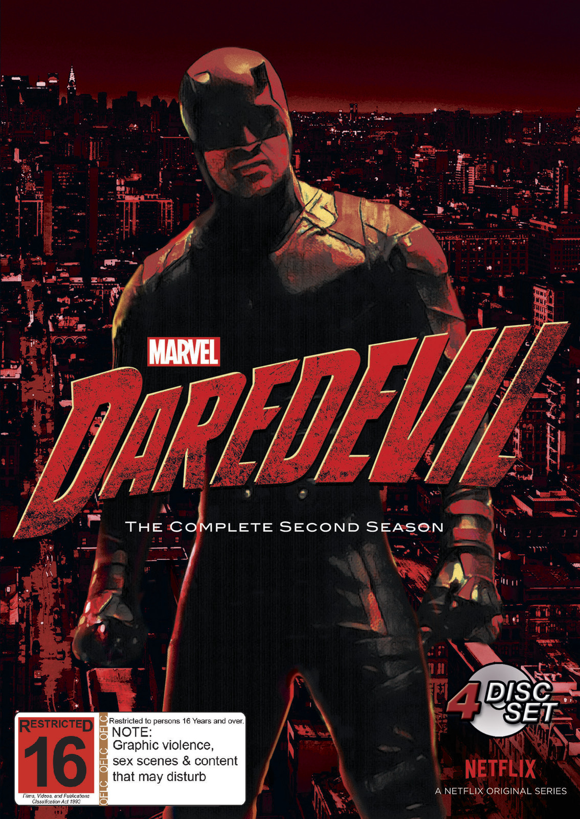 Daredevil - The Complete Second Season on DVD image