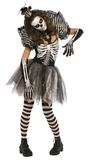 Dancing Skeleton - Ladies Costume (Medium)