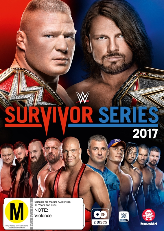 WWE: Survivor Series 2017 on DVD
