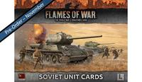 Flames of War: Soviet Unit Cards (Late War)