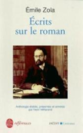 Ecrits sur le roman by Emile Zola image