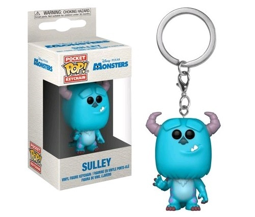 Monsters Inc. - Sulley Pocket Pop! Keychain
