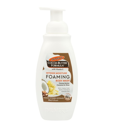 Palmers Foaming Body Wash - Cocoa Butter, Coconut & Shea (400ml)