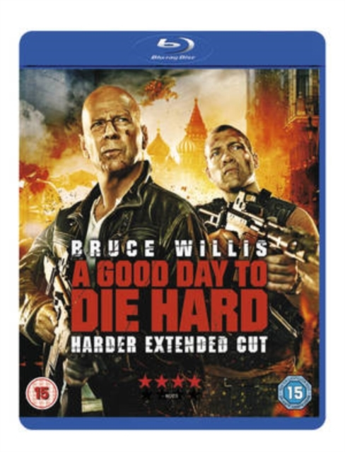 A Good Day to Die Hard on Blu-ray