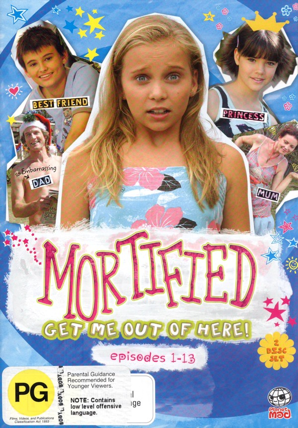 Mortified - Vol. 1: Episodes 1-13 (2 Disc Set) on DVD image