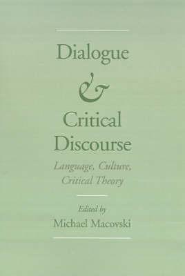 Dialogue and Critical Discourse image