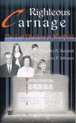 Righteous Carnage: Reality Show by Timothy B. Benford image