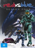 Red vs. Blue - Season Four on DVD