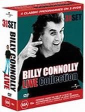 Billy Connolly Collection -  Greatest Hits / Erect / 2 On 1 Live on DVD