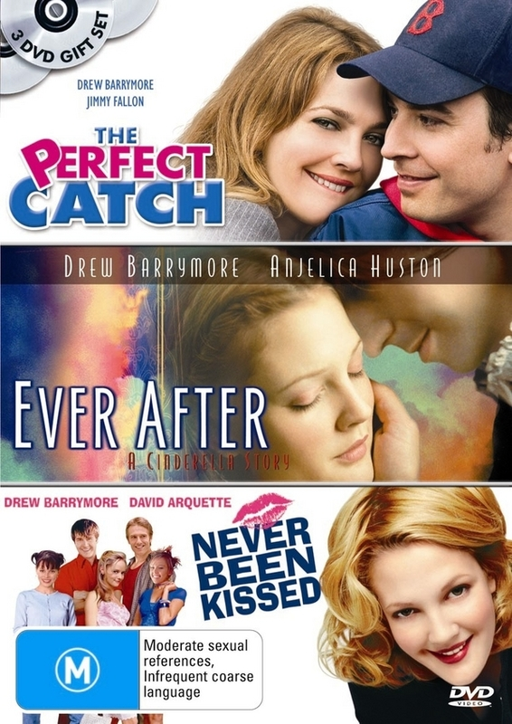 Perfect Catch / Ever After / Never Been Kissed on DVD